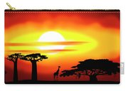Africa Sunset Carry-all Pouch