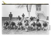 African American Football Team Carry-all Pouch