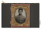 African American Union Soldier Carry-all Pouch