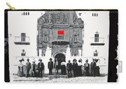 African Americans  Motor Trip #1 Mission San Xavier Del Bac Tucson Arizona C. 1909-2013 Carry-all Pouch