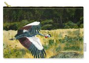 African Crowned Crane Painting Carry-all Pouch