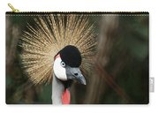African Crowned Crane 1 Carry-all Pouch
