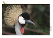 African Crowned Crane Carry-all Pouch