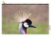 African Crowned Crane Portrait Carry-all Pouch