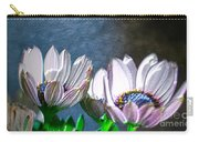 African Daisy Detail Carry-all Pouch