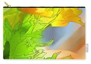 African Daisy I - Digital Paint Carry-all Pouch