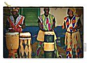 African Drummers Carry-all Pouch