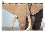 African Elephant Bull Amboseli Carry-all Pouch