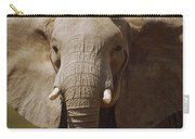 African Elephant Close Up Amboseli Carry-all Pouch
