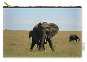 African Elephant Masai Mara Kenya Carry-all Pouch
