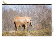African Elephant On A Hill Carry-all Pouch