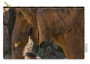 African Elephant Profile Carry-all Pouch