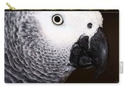 African Gray Parrot Art - Seeing Is Believing Carry-all Pouch