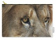 African Lion #8 Carry-all Pouch