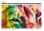 African Lion Eyes 2 Carry-all Pouch
