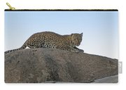 African Safari Leopard 1 Carry-all Pouch