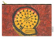 African Shell Pattern Carry-all Pouch