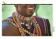 African Smile Carry-all Pouch