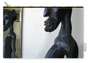African Statue Reflection Carry-all Pouch