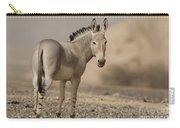 African Wild Ass Equus Africanus Carry-all Pouch