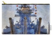 Aft Turret 3 Uss Iowa Battleship Photoart 02 Carry-all Pouch