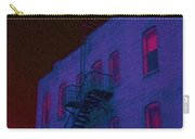 after hours glow -Seurat Style Carry-all Pouch