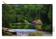 After Rain Carry-all Pouch by Jon Burch Photography