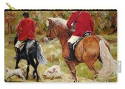 After The Hunt Carry-all Pouch by Diane Kraudelt