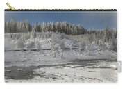 Afternoon At Mud Volcano Area - Yellowstone National Park Carry-all Pouch