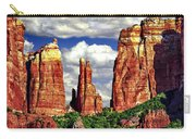 Afternoon Cathedral Rocks Saddle View Red Rock State Park Sedona Arizona Carry-all Pouch