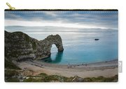 Afternoon Cloud Breaking Up At Durdle Door Carry-all Pouch