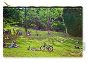Afternoon In The Park With Friends Carry-all Pouch