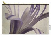 Agapanthus Africanus Star Carry-all Pouch