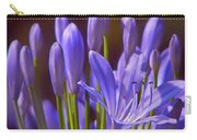 Agapanthus - Lily Of The Nile - African Lily Carry-all Pouch