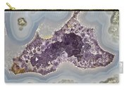 Agate And Amethyst 02 Carry-all Pouch