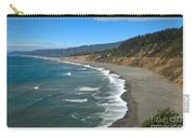 Agate Beach At Patricks Point Carry-all Pouch by Adam Jewell