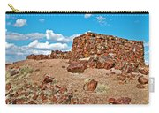 Agate House In Petrified Forest National Park-arizona  Carry-all Pouch