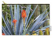 Agave And Cactus Carry-all Pouch