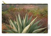 Agave And The Chisos Mountains Carry-all Pouch