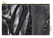 Agave Black And White Dsc08571 Carry-all Pouch