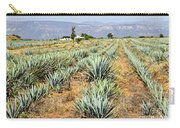 Agave Cactus Field In Mexico Carry-all Pouch