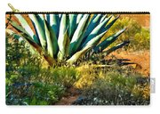 Agave In Secret Mountain Wilderness West Of Sedona Carry-all Pouch