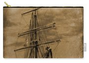 Age Of Sail Poster Carry-all Pouch by John Malone Halifax photographer