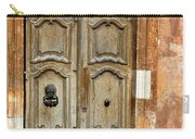 Aged Door In Provence Carry-all Pouch