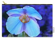 Aglow In Blue Wide View Carry-all Pouch