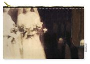 Agnes Cashen And Thomas Cannon Wedding Portrait Circa 1918 Carry-all Pouch