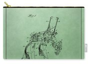 Agriculture Plow Patent Carry-all Pouch