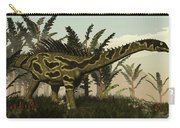 Agustinia Dinosaur Walking Amongst Carry-all Pouch