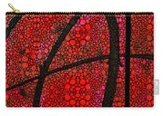 Ah - Red Stone Rock'd Art By Sharon Cummings Carry-all Pouch