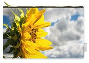 Ah Sunflower Carry-all Pouch